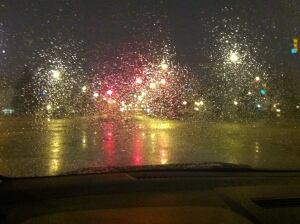 Snow showers Saskatoon