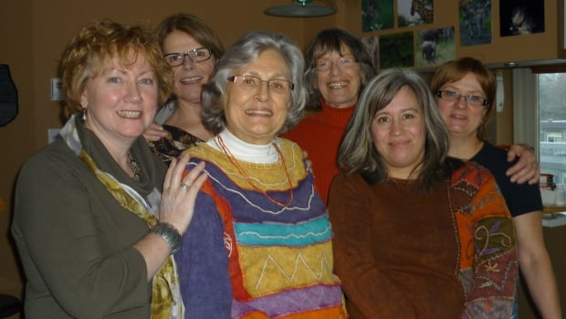 The founders of Vancouver Women in Trades recently gathered to discuss the challenges they faced breaking into the business over the past three decades, and what issues still need work to encourage women to pursue careers in the trades. In the back row (from left) are Janet Lane, Kate Braid and Marilyn Lanz, and in the front row are Heather Tomsic, Judy Doll and Tamara Pongracz.