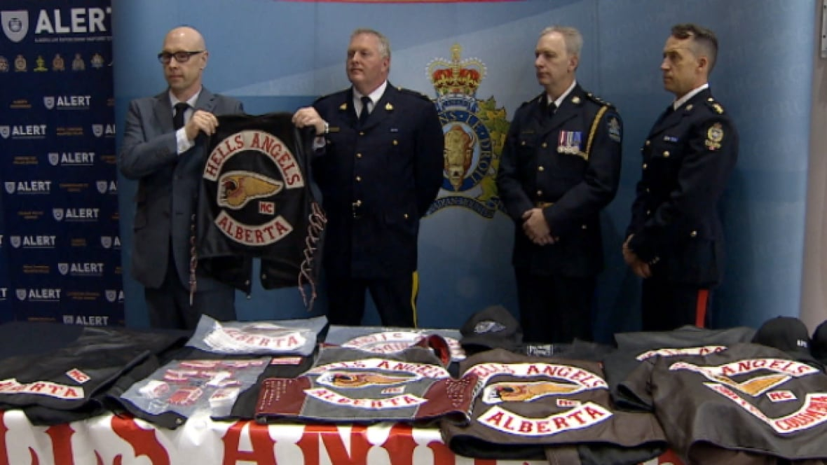 Hells angels investigation a first of its kind in alberta for Achat television montreal