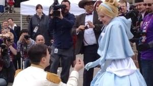Prince Charming, Cinderella proposal Calgary expo