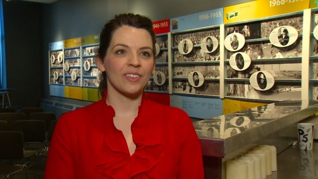 The National Music Centre's Mary Kapusta says getting $50,000 from the federal government will help them restore flood-damaged instruments and archives.