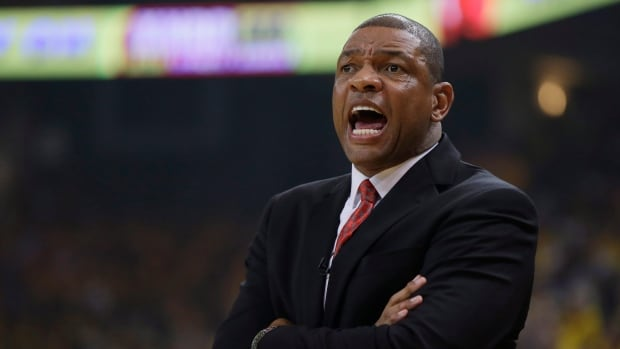 Los Angeles Clippers coach Doc Rivers, seen in Game 3, let his players air out their feelings after the audiotape came to light.