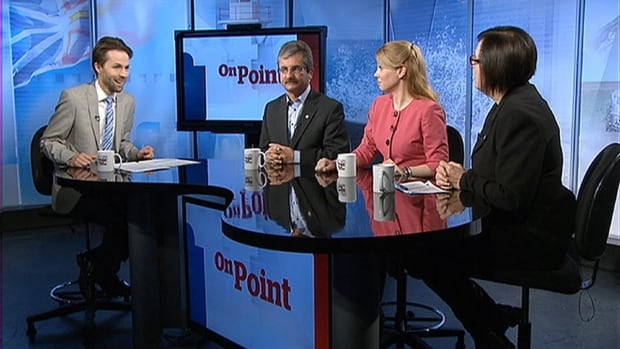 Guest host Peter Cowan was joined this week by On Point panelists Shawn Skinner, Lynn Hammond and Lana Payne.