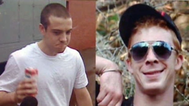 Kyle Fredericks and Daniel Surette are due in Kentville court Monday.