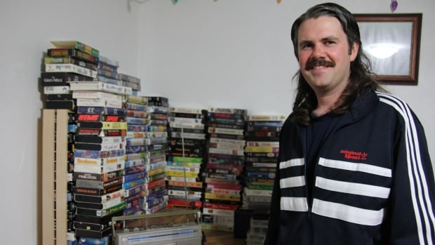 Blair McMillan and his family received several VHS tapes from people interested in their project.