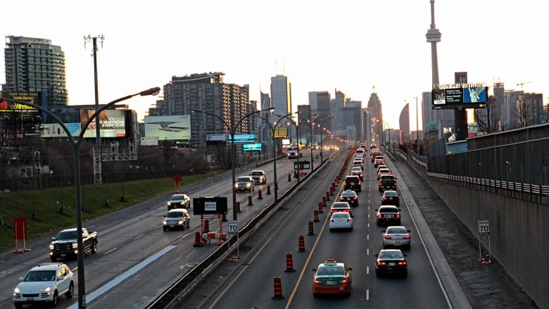 Good news, Don Valley Parkway drivers: Some lane closures are set to end ahead of time