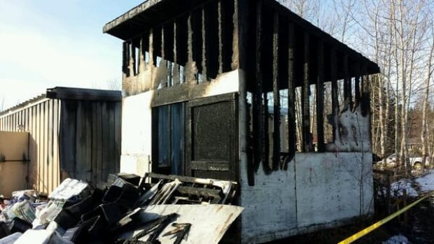 A fire at the Northern store in Fort Simpson has destroyed the Northern store's spring stockpile of dry goods, just days after the ice bridge over the Liard River was closed for the season.
