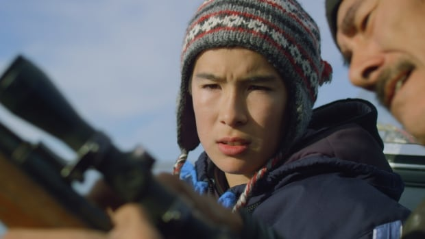 Lukasi Forrest plays Tomas, a 14-year-old boy who travels to Igloolik with his mother to meet his family.