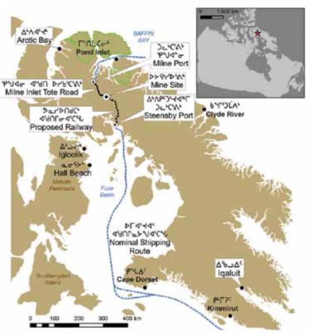 Baffinland map