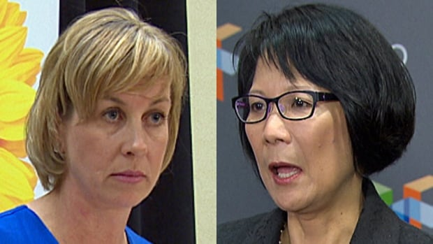 Karen Stintz and Olivia Chow