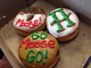 Mooseheads donuts