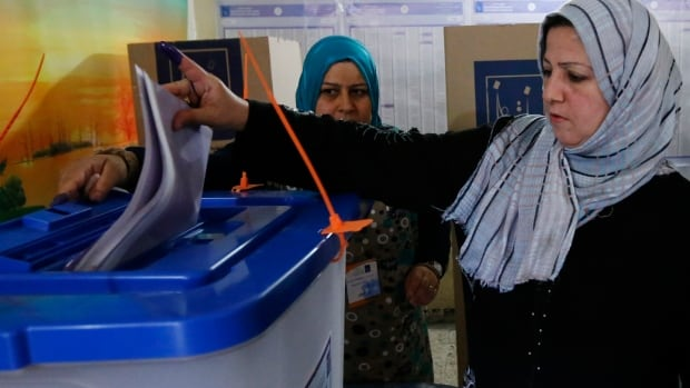 Iraqis headed to the polls on Wednesday in their first national election since U.S. forces withdrew from Iraq in 2011 as Prime Minister Nouri al-Maliki seeks a third term amid rising violence.