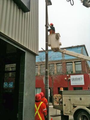 lamp post removal in thunder bay