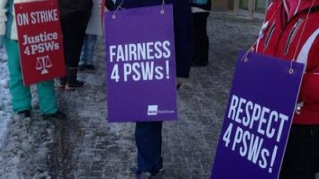 Unions representing personal support workers have spent months lobbying the Ontario government for a minimum wage increase for homecare PSWs to $16 an hour.