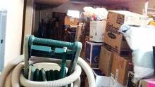 Surrey garage clutter