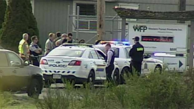Shootings at Western Forest Products sawmill in Nanaimo