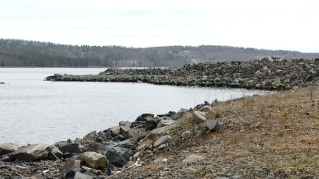 This stretch of the Bedford Basin is slated for development.