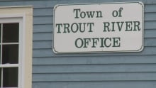 Town of Trout River office