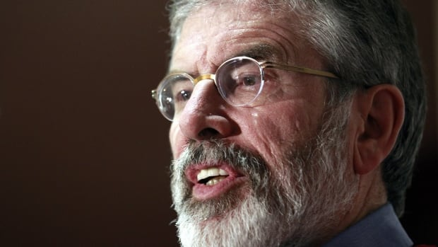Sinn Fein president Gerry Adams confirmed his own arrest Wednesday in a prepared statement and described it as a voluntary, prearranged interview.