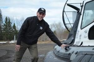 Rick Prior and Hovercraft