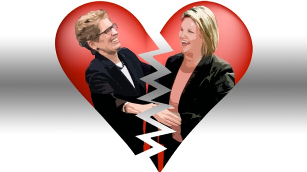 Premier Kathleen Wynne's government needs the support of Andrea Horwath's New Democrats if the Liberals hope for their budget to pass and for their government to survive.