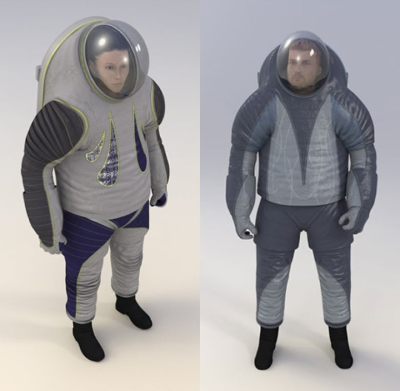 New Mars Space Suit Unveiled By NASA
