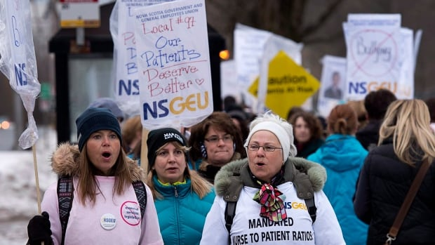 Nurses at the Capital District Health Authority went on a strike in early April before the Liberal government brought in essential services legislation. Political analyst Graham Steele says that legislation is the most significant single piece of legislation in years.