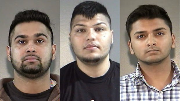 Surrey RCMP are asking other potential victims to come forward after these three men were charged Thursday with attacking sex trade workers in Surrey.