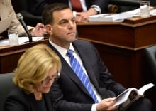 Ontario PC Leader Tim Hudak on Budget Day