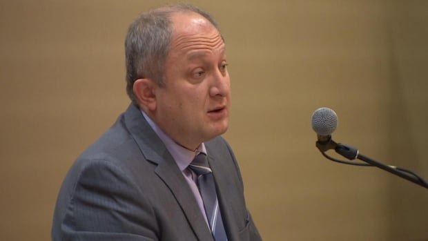Dr. Yordan Karaivanov says doctors want the binding arbitration issue settled before contract negotiations start.