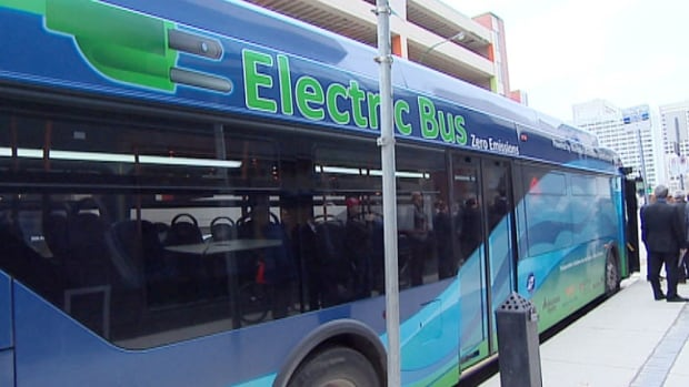 The city, province, Manitoba Hydro, New Flyer and Red River College are looking into the feasibility of converting Winnipeg over to an all-electric transit system.