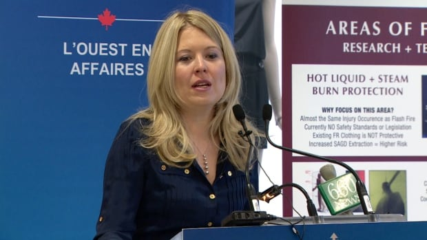 Calgary MP Michelle Rempel announced Friday the government is investing in the Innovative Apparel Program at Olds College.