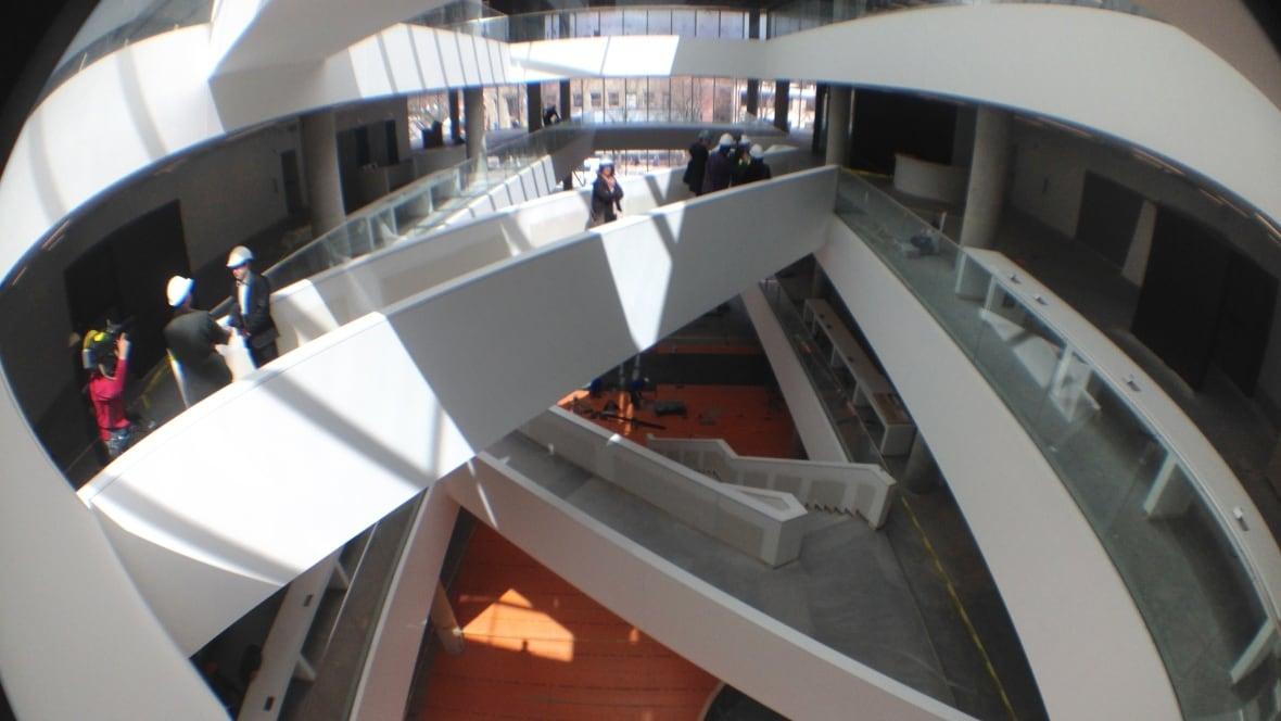 Halifax Central Library Offers A Sneak Peek Inside Nova Scotia Cbc News