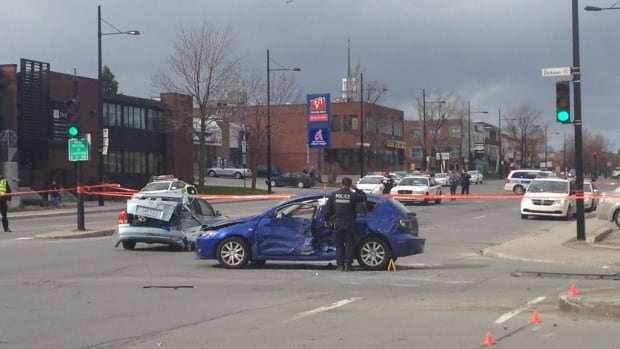 A man and a woman died after a collision on Sherbrooke St. E., just after 3 p.m. last Friday.