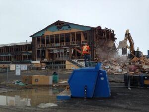 Sir Alexander Mackenzie school demolition