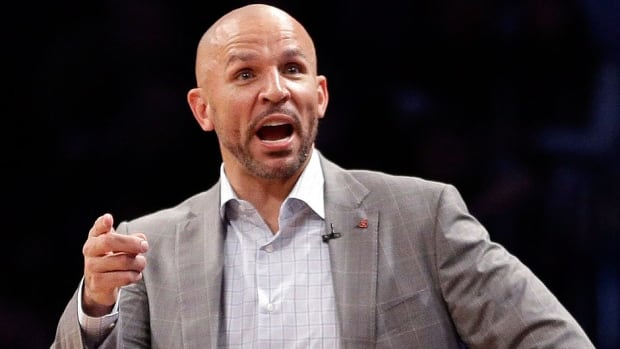 Nets coach Jason Kidd was fined $25,000 US on Friday for publicly criticizing referees. In Game 5 versus the Raptors, he questioned why Joe Johnson shot only one free throw in Brooklyn's 115-113 loss. He felt Shaun Livingston was fouled on a rebound in the final seconds.