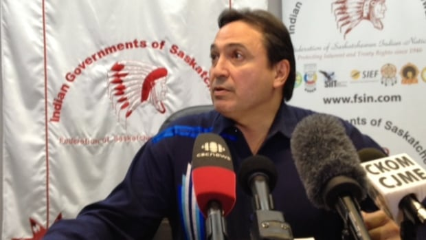 FSIN Chief Perry Bellegarde says he is as surprised as anyone over Shawn Atleo's sudden departure from the AFN.