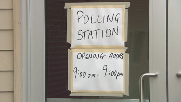 Polling is open all day in Kanesatake. The Mohawk community's band council's decision-making power had been paralyzed by ongoing disputes among the chiefs.