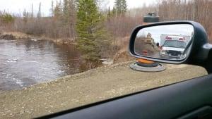 Highway 527 washout