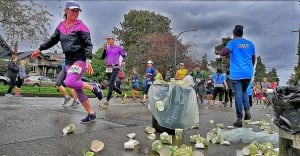 Vancouver marathon runner