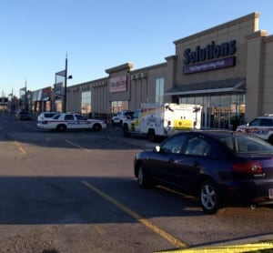 Scene of shooting outside HomeSense in Woodbridge, Ont.