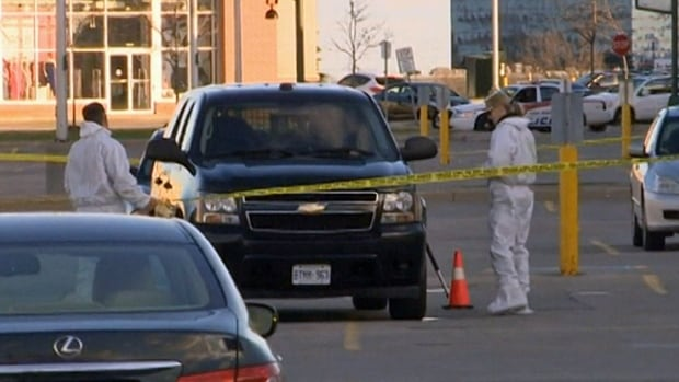 Police have identified Ritesh Thakur, 41, as the man who was shot in the parking lot outside of a HomeSense store in Woodbridge, Ont., on Sunday.