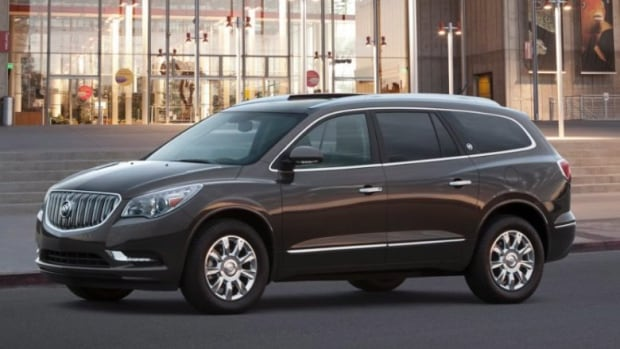 The 2014 Buick Enclave is one of three GM models being recalled because of problems with the fuel gauge.