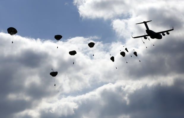 POLAND-NATO-US-PARATROOPERS-UKRAINE-BALTIC-MISSION-CANADA-ORZEL-ALERT-MAY-5