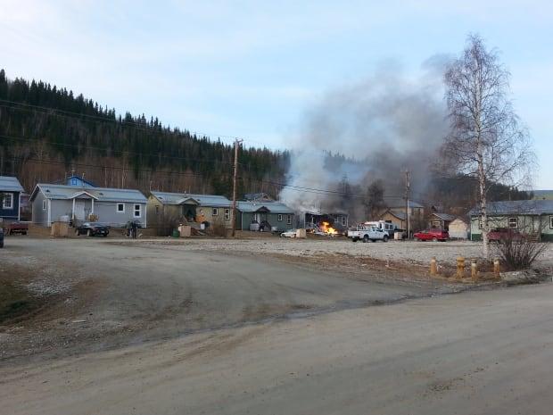 Dawson City fire