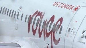Passengers seeing red over Air Canada Rouge