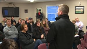 Parents at Mount Pearl school reorganization meeting