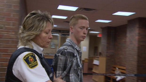 Brandon Tobin, 20, appeared in provincial court on Wednesday.