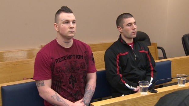 Justin Wiseman and Adam Hayden appeared in provincial court in St. John's on Wednesday. The men are both charged in the riot that occurred at Her Majesty's Penitentiary on Aug. 5, 2013.