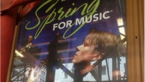 Alexander Mickelthwate on Spring for Music poster
